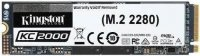 Dysk SSD Kingston KC2000 2TB M.2 2280 NVMe (3200/2200 MB/s ) TLC, 3D NAND