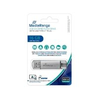 Pendrive MediaRange MR935 16GB USB 3.0 + USB 3.0 Type-C
