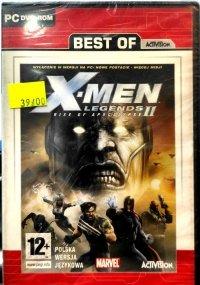 X-MEN LEGENDS II RISE OF APOCALYPSE PC DVD