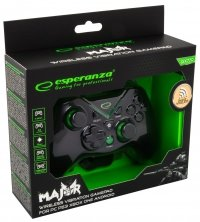 Gamepad PS3/PC/XBOX ONE/ANDROID USB Esperanza Major czarny
