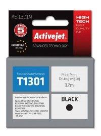 Tusz Activejet AE-1301N (zamiennik Epson T1301; 32 ml; czarny)