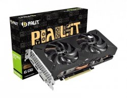 Karta VGA Palit GTX 1660 Super GamingPro OC 6GB GDDR5 192bit DVI+HDMI+DP PCIe3.0