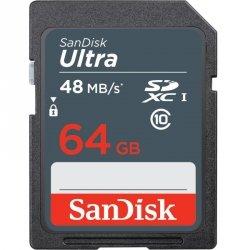 Karta pamięci SDXC SanDisk Ultra 64GB 48 MB/s class 10 UHS-I