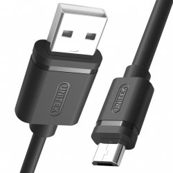UNITEK Y-C455GBK Unitek kabel USB 2.0-micro USB M/M, 2,0m; Y-C455GBK