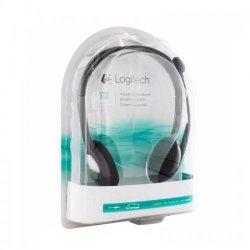Słuchawki z mikrofonem Logitech H110