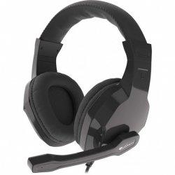 Słuchawki z mikrofonem Genesis Argon 100 Gaming czarne