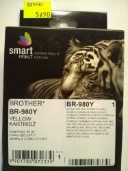 BROTHER LC980 YELLOW     smart PRINT