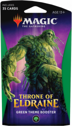 MTG Throne of Eldraine Green Theme Booster