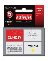 Canon CLI-521 YELLOW CHIP ACTIVE