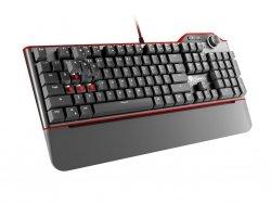 Klawiatura GENESIS RX85 GAMING mechaniczna dla graczy, KALIH RED, US layout