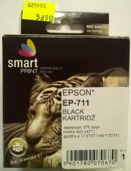 EPSON T0711 BLACK        smart PRINT