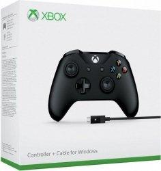 Gamepad Microsoft Xbox One + kabel PC 4N6-00002 (PC, Xbox One)