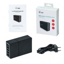 ITEC CHARGER5P52WQC i-tec USB Quick Charge Smart Ładowarka 5 Port 52W