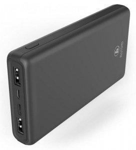 Powerbank Hama Power Pack ALU15HD 15000mAh, antracytowy