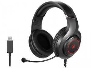Słuchawki z mikrofonem A4Tech BLOODY G220S Black USB