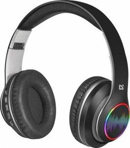 Słuchawki z mikrofonem Defender FREEMOTION B545 bezprzewodowe Bluetooth podświetlane + MP3 Player