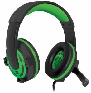 Słuchawki z mikrofonem Defender WARHEAD G-300 Gaming czarno-zielone + GRA