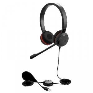 Słuchawki przewodowe z mikrofonem Jabra Evolve 30 II MS Mono, USB-A czarne