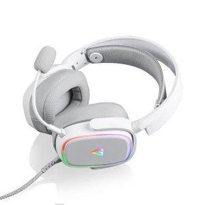 Słuchawki z mikrofonem Modecom MC-899 PROMETHEUS Gaming, białe