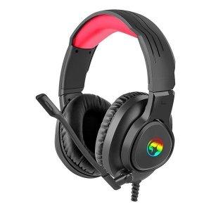 Słuchawki z mikrofonem Marvo HG8958 LED, dla gracza, jack combo + trójnik jack 3.5mm
