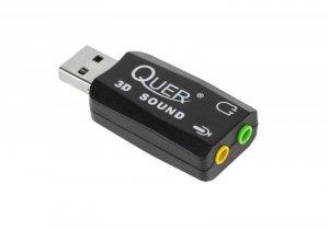 Karta dźwiękowa Quer USB 5.1