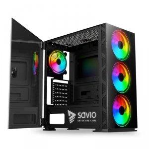 Obudowa PC SAVIO Prime X1 ARGB Glass