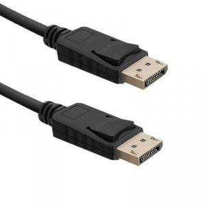 Kabel DisplayPort v1.4 Qoltec męski / DisplayPort v1.4 męski | 0,5m