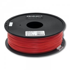 Filament Qoltec do druku 3D | ABS PRO | 1,75mm | 1kg | Red