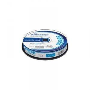 Płyta Blu-ray MediaRange MR496 25GB 4x speed (Cake 10) Inkjet Fullsurface Printable