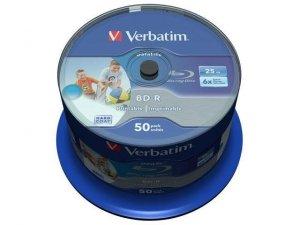 BD-R Verbatim 25GB X6 printable Datalife (Cake 50)