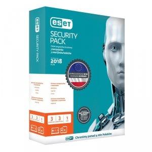 ESET Security Pack dla 3 komputerów i 3 urządzeń mobilnych, 12 m-cy, BOX