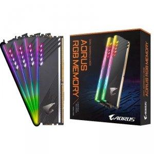 Pamięć DDR4 Gigabyte AORUS RGB 16GB (2x8GB) 3600MHz CL18 1,35V (With Demo Kit)
