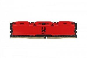 Pamięć DDR4 GOODRAM IRDM X 16GB (2x8GB) 3200MHz CL16-20-20 1,35V 1024x8 Red
