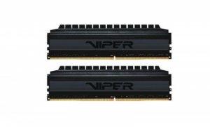 Pamięć DDR4 Patriot Viper 4 Blackout 32GB (2x16GB) 3600 MHz CL18 1,35V