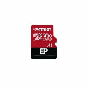 Karta pamięci Patriot EP Series MicroSDXC 128GB Class V30 + Adapter