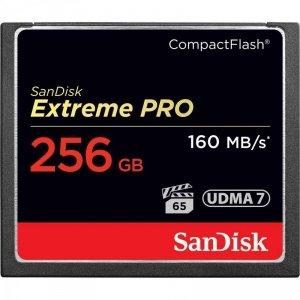 Karta pamięci Compactflash SanDisk Extreme PRO 256GB 160/140 MB/s