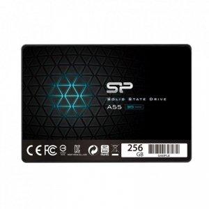 Dysk SSD Silicon Power A55 256GB 2.5 SATA3 (550/450) 3D NAND, 7mm BULK