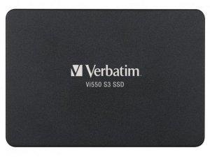 Dysk SSD wewnętrzny Verbatim VI550 S3 256GB 2.5 SATA III czarny