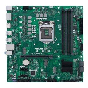 Płyta ASUS PRO Q570M-C/CSM /Q570/DDR4/SATA3/M.2/USB3.1/PCIe4.0/s.1200/mATX