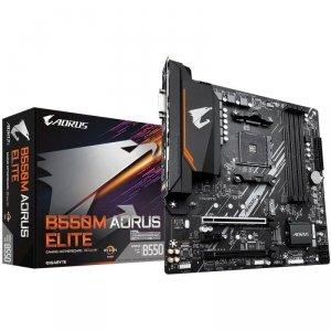 Płyta Gigabyte B550M AORUS ELITE /AMD B550/DDR4/SATA3/M.2/USB3.1/PCIe4.0/AM4/mATX