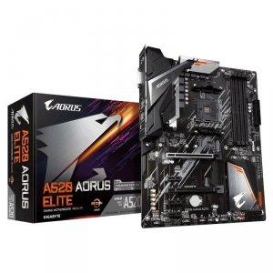 Płyta Gigabyte A520 AORUS ELITE (rev. 1.0)/AMD A520M/DDR4/SATA3/M.2/USB3.0/PCIe3.0/AM4/ATX