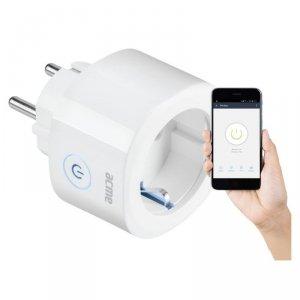 Wtyczka elektryczna Smart WiFi Acme SH1101 (biała)