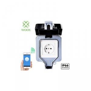 Gniazdo zewnętrzne, inteligentne Woox Smart 16A Wi-Fi, IP66