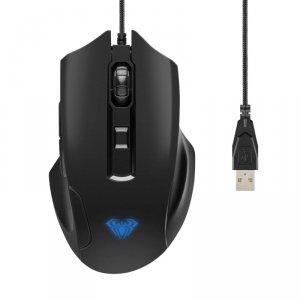 Mysz przewodowa Aula Inertia optyczna Gaming (7 kolorów podświetlenia)