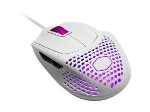 Mysz przewodowa Cooler Master MM720 optyczna 16000 DPI RGB matowa biała dla graczy
