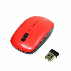 Mysz bezprzewodowa Msonic MX707R optyczna 3 przyciski 1000dpi czerwona