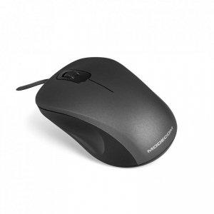 Mysz przewodowa Modecom MC-M10S SILENT optyczna czarno-szara