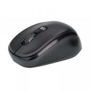Mysz bezprzewodowa Manhattan 1600dpi optyczna czarna
