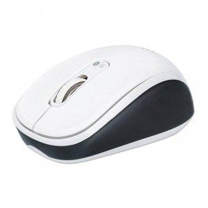 Mysz bezprzewodowa Manhattan 1600dpi optyczna biało-czarna
