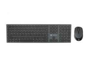 Zestaw bezprzewodowy klawiatura + mysz Natec Octopus Bluetooth + USB aluminium